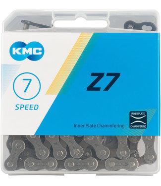 KMC Chaîne KMC 7 vitesses 116L Quick-Link ( Compatible 6-7-8vit.)