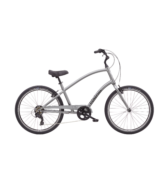 Electra 21 Townie Original 7D Step-Over Silver