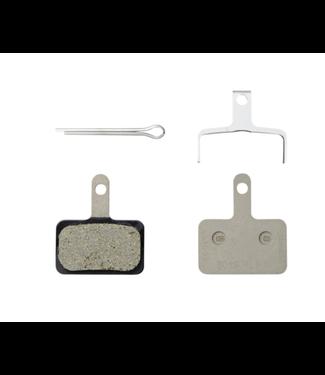 Shimano Plaquettes de freins a disques (Paire) Shimano B03S Type B Forme: Shimano B-Type Résine