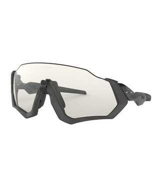 Oakley Lunette Oakley Flight Jacket Steel Gris / Photocromic