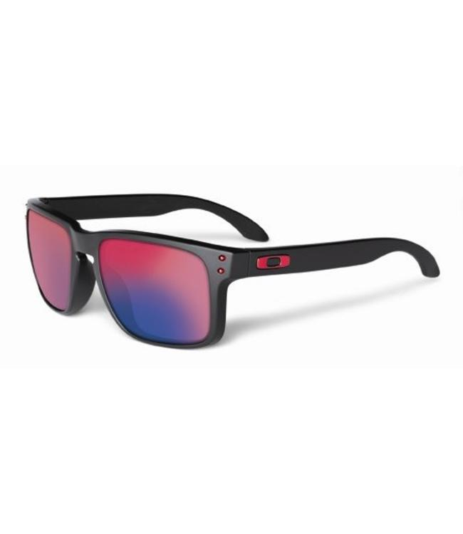 585aa9d322 Lunette Oakley Holbrook Matte Black w/+ Red Iridium - Vélo Saint-Joseph