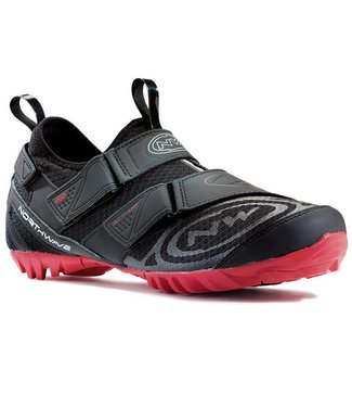 Northwave Chaussure Northwave , Multi App noir / rouge ,cyclo-tourisme