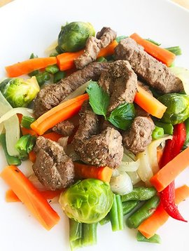 Sautéed Beef & Vegetables Ultra FIT