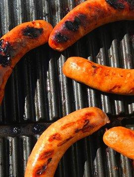Saucisses bacon & cheddar (15% PROMO, prix rég: 4.00)