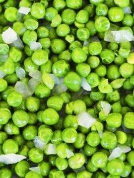 Pois verts & oignons