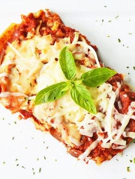 5-cheeses, spinach & eggplant lasagna (175 g)
