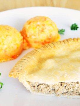 Pâté à la viande & purée aux trois légumes (325g)