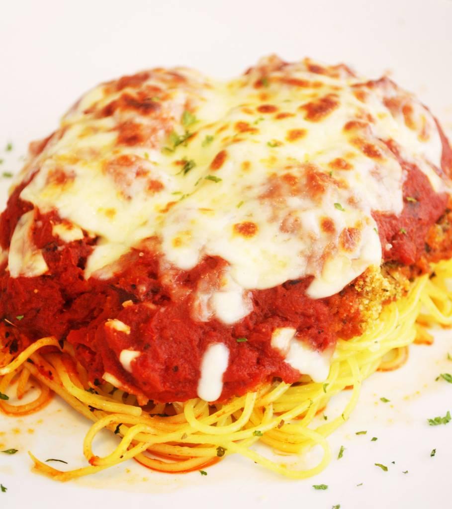 Sole fillet parmigiana & herbs pasta (175 g)