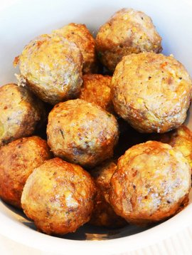 Boulettes de veau sauce aigre-douce
