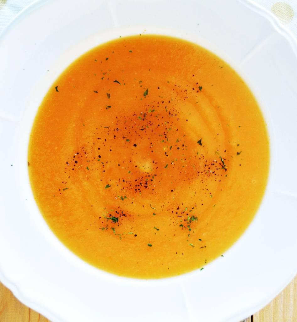 Turnip & maple pottage