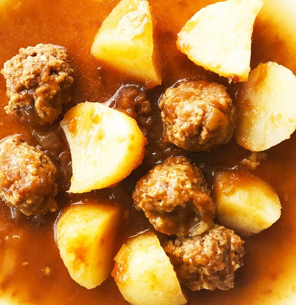 Ragoût de boulettes de veau & pommes de terre (325g)