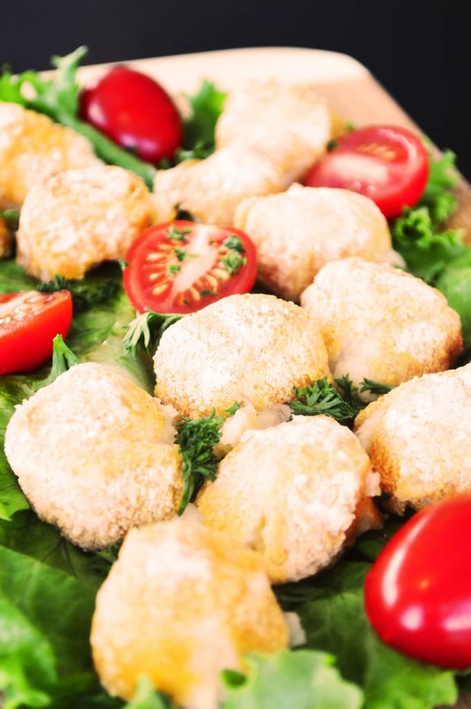 Mini parmesan fondues