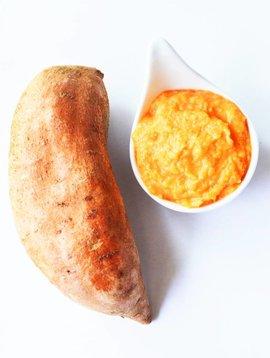 Purée de patates douces - Circulaire Février 2 pour 10$ (prix rég. 5.99)