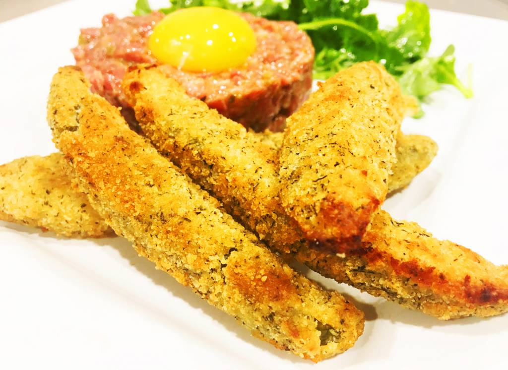 Cornichons frits ( CIRCULAIRE Juillet, prix rég: 5.00)