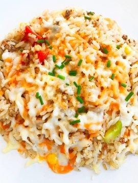 Gratin de riz aux légumes & au boeuf (325g)