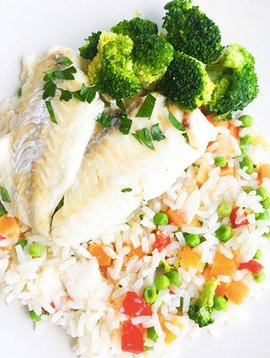 Haddock, rice & vegetables Ultra FIT