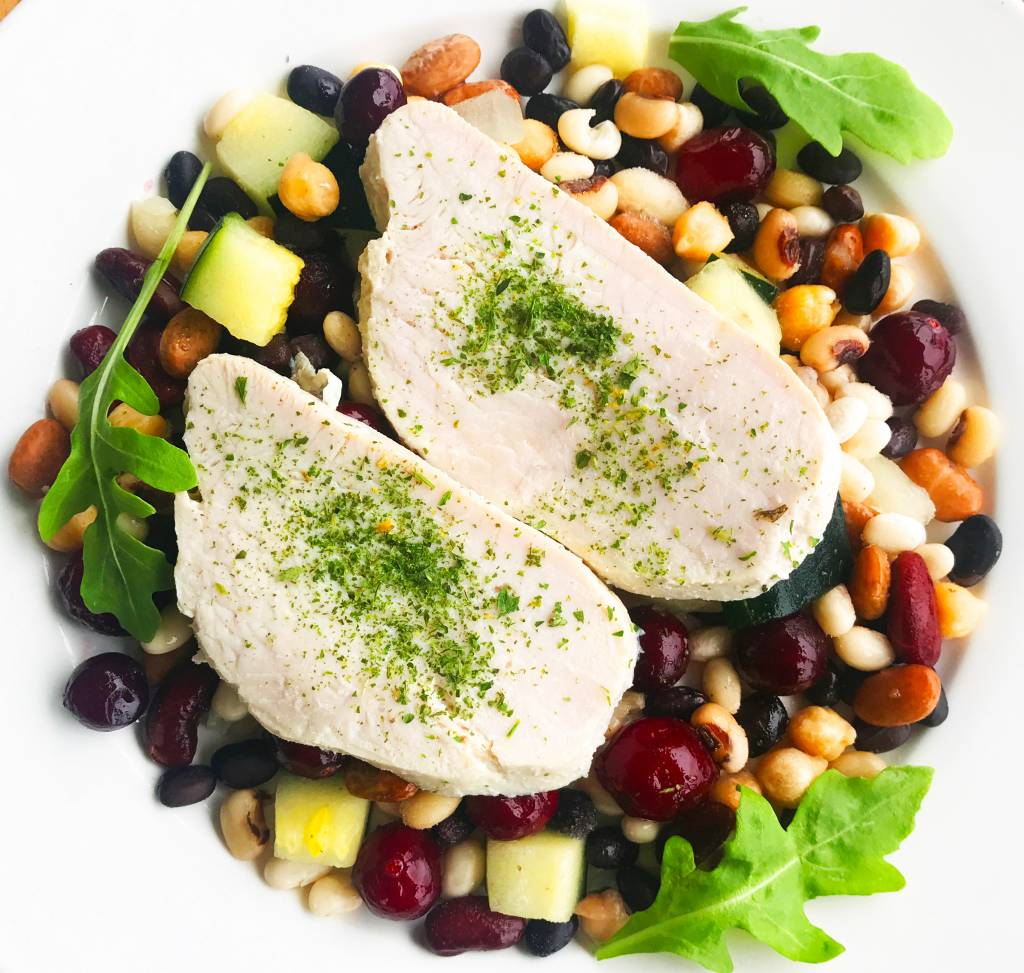Ultra FIT Turkey Breast, Green Squash, legumes & Cranberries
