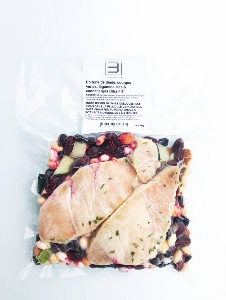 Ultra FIT Turkey Breast, Green Squash, Pulses & Cranberries