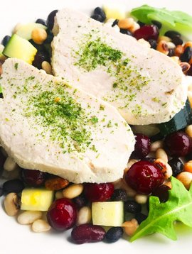 Ultra FIT Turkey Breast, Green Squash, Pulses & Cranberries