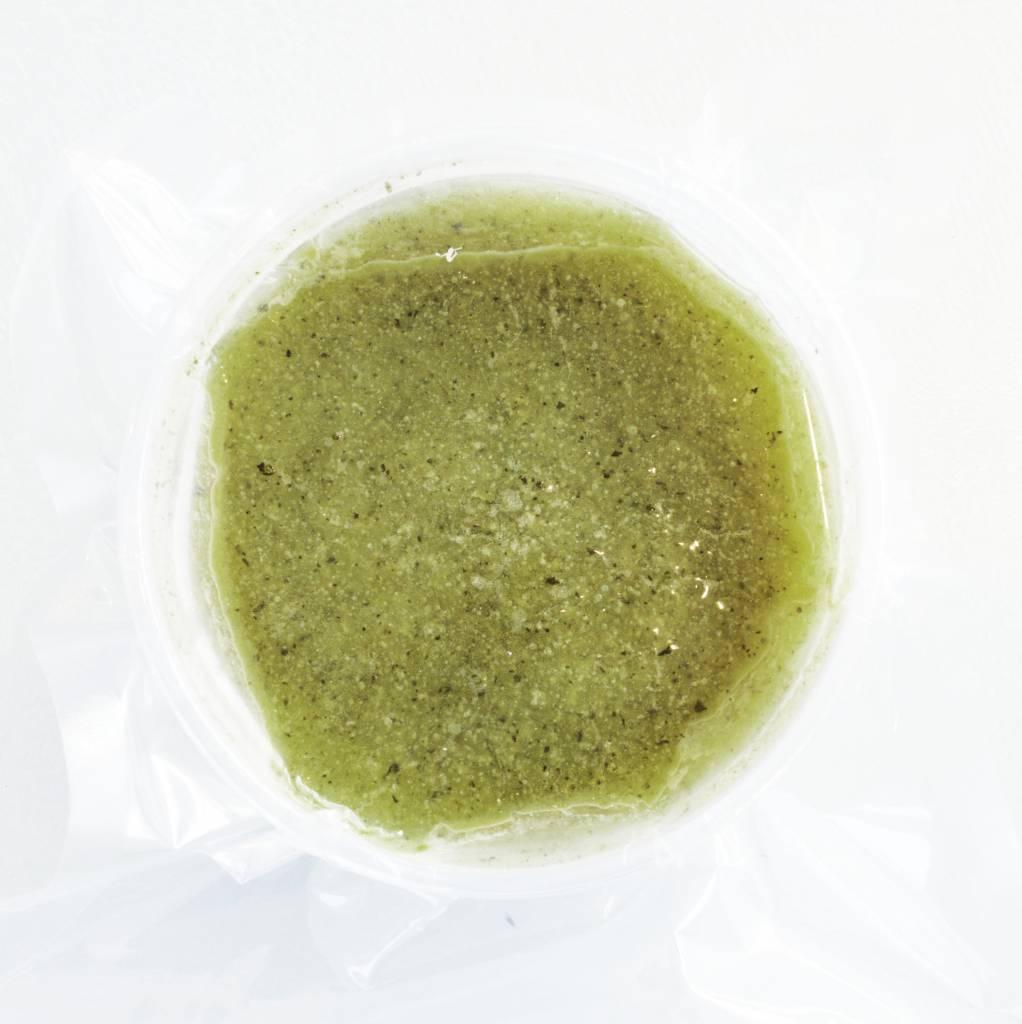 Potage de courges vertes & basilic