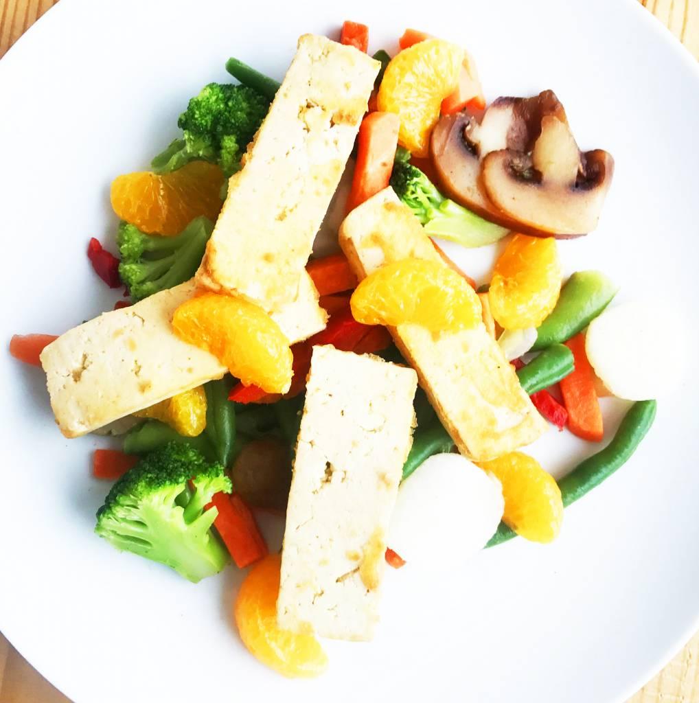 Mandarin tofu, ginger & Asian vegetables Ultra FIT