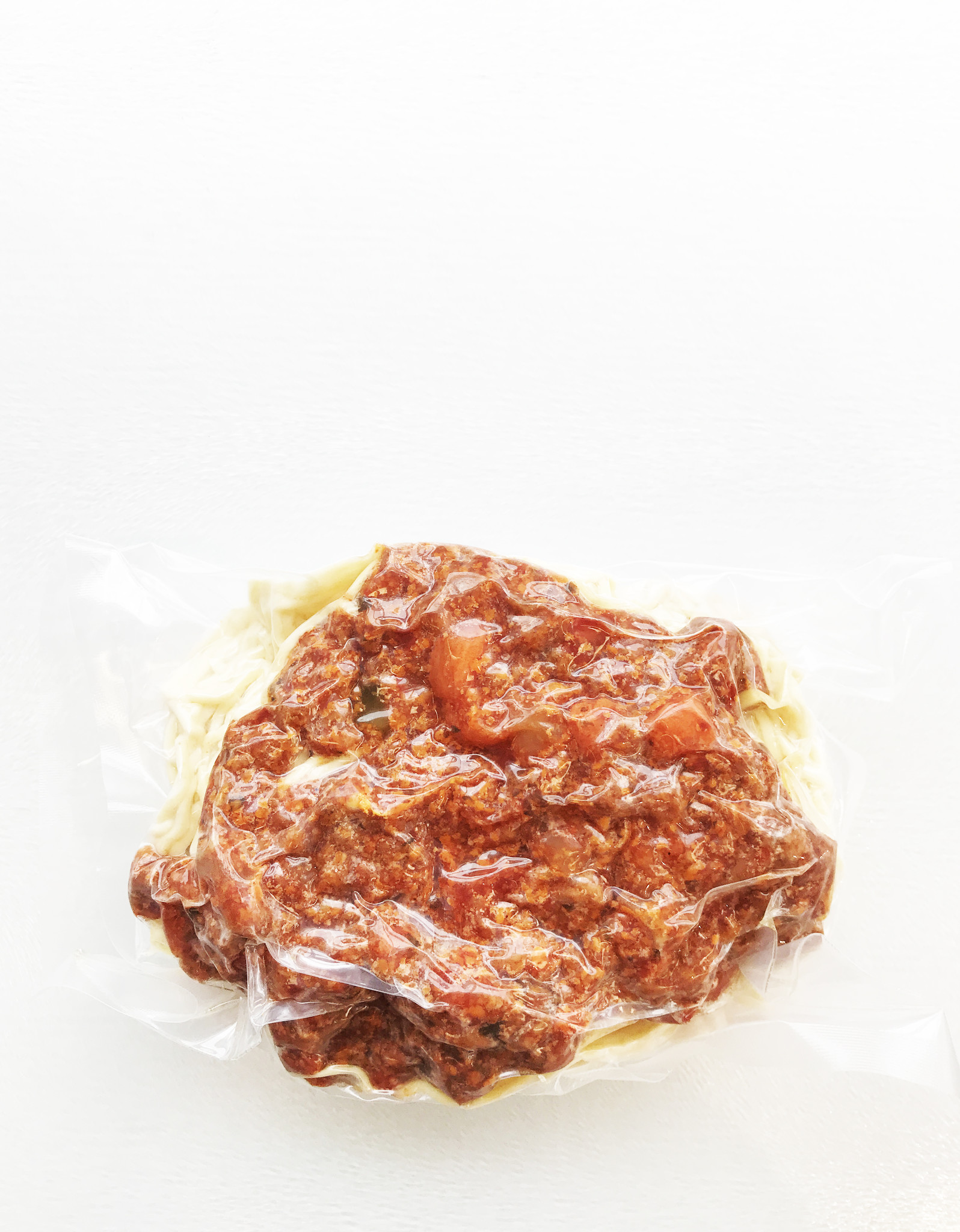 Spaghettini with meat sauce (325g)