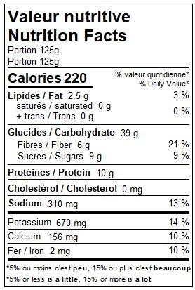 Purée de pommes de terre aux trois légumes (CIRCULAIRE SEPT, prix rég: 3.25)