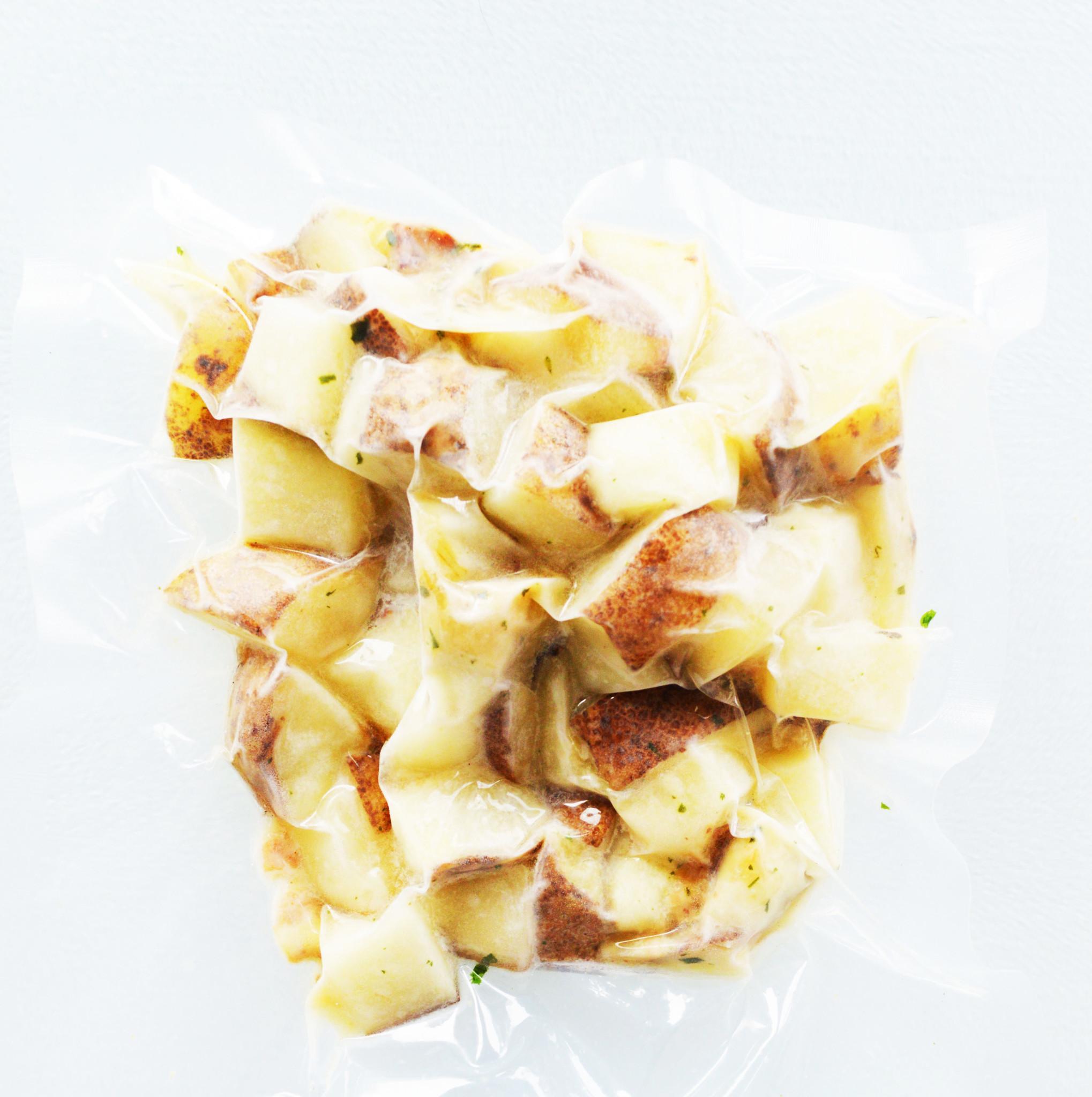 Patates à déjeuner, bacon & oignons