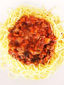 Spaghettini à la viande 175g