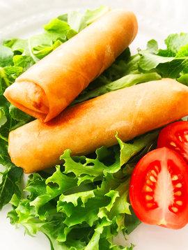 Rouleaux impériaux porc & légumes