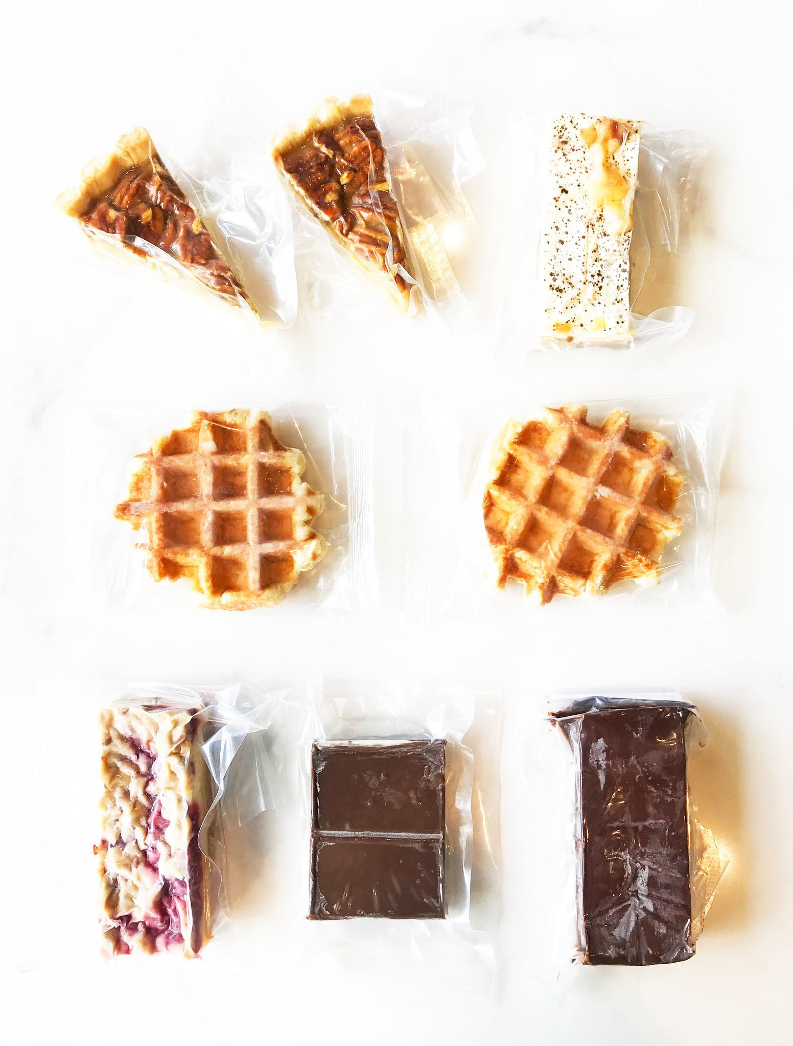 Grande boîte de desserts