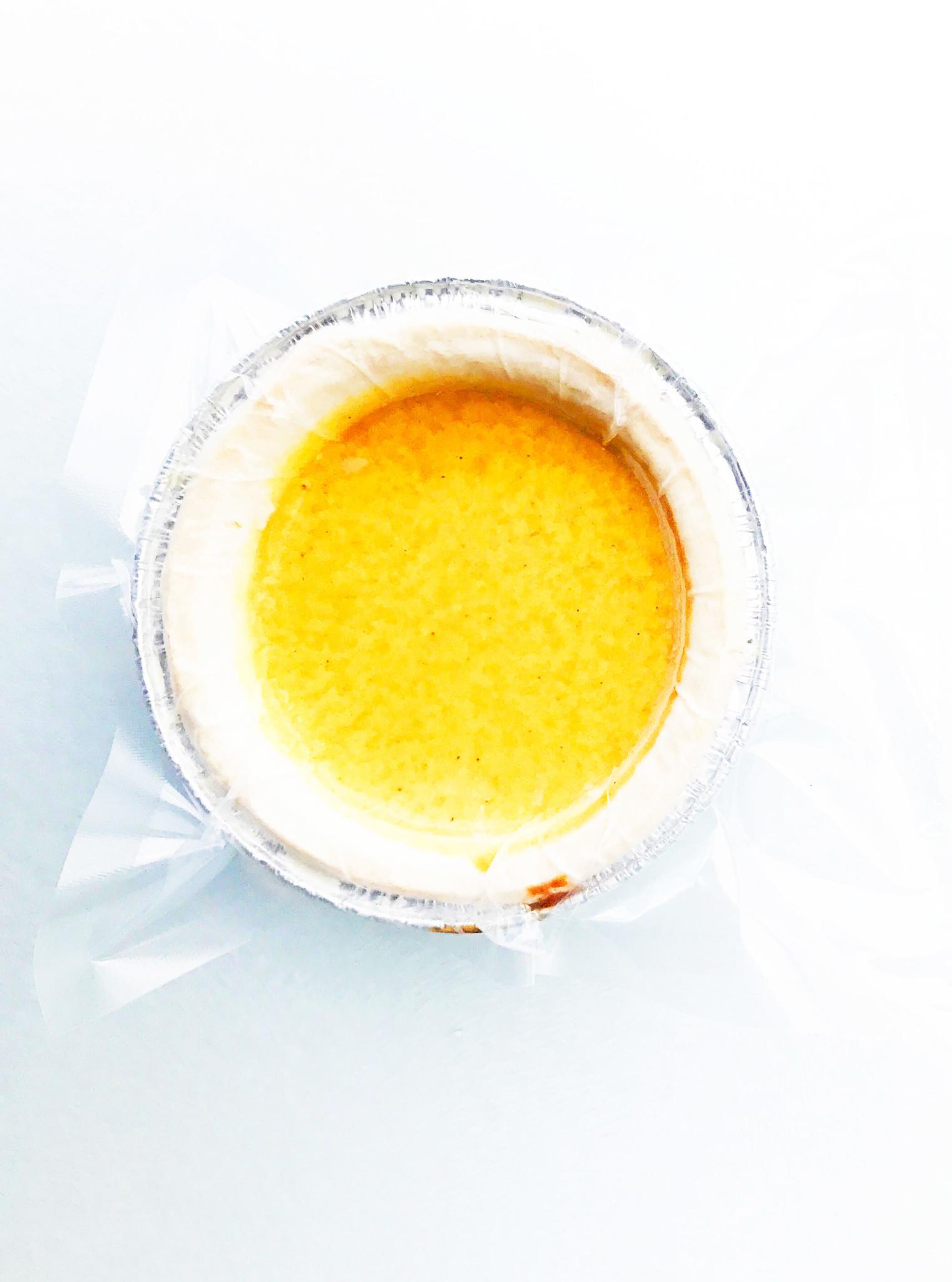 Tartelette citrouille & vanille
