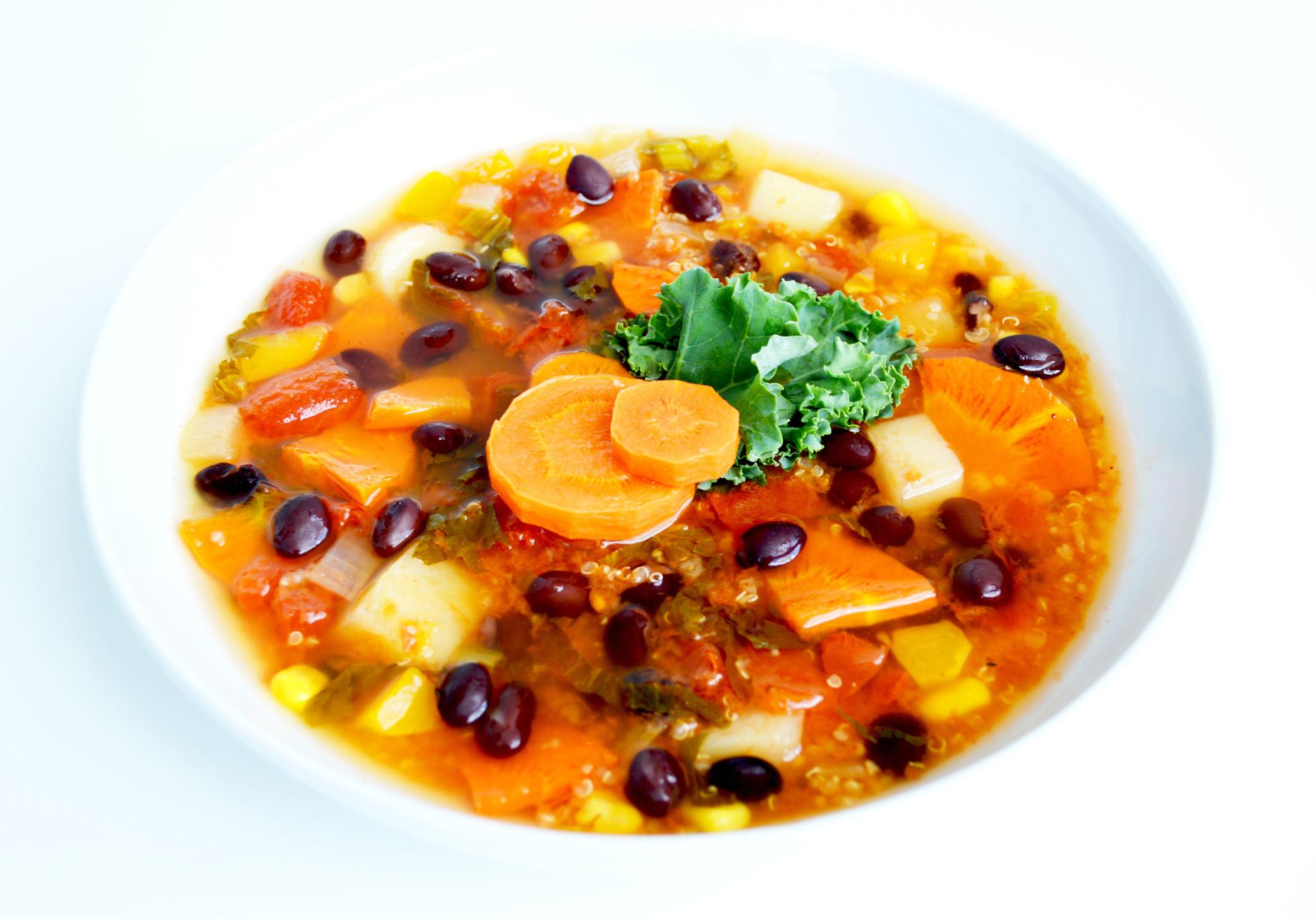 Soupe-repas mexicaine végétalienne (325g)