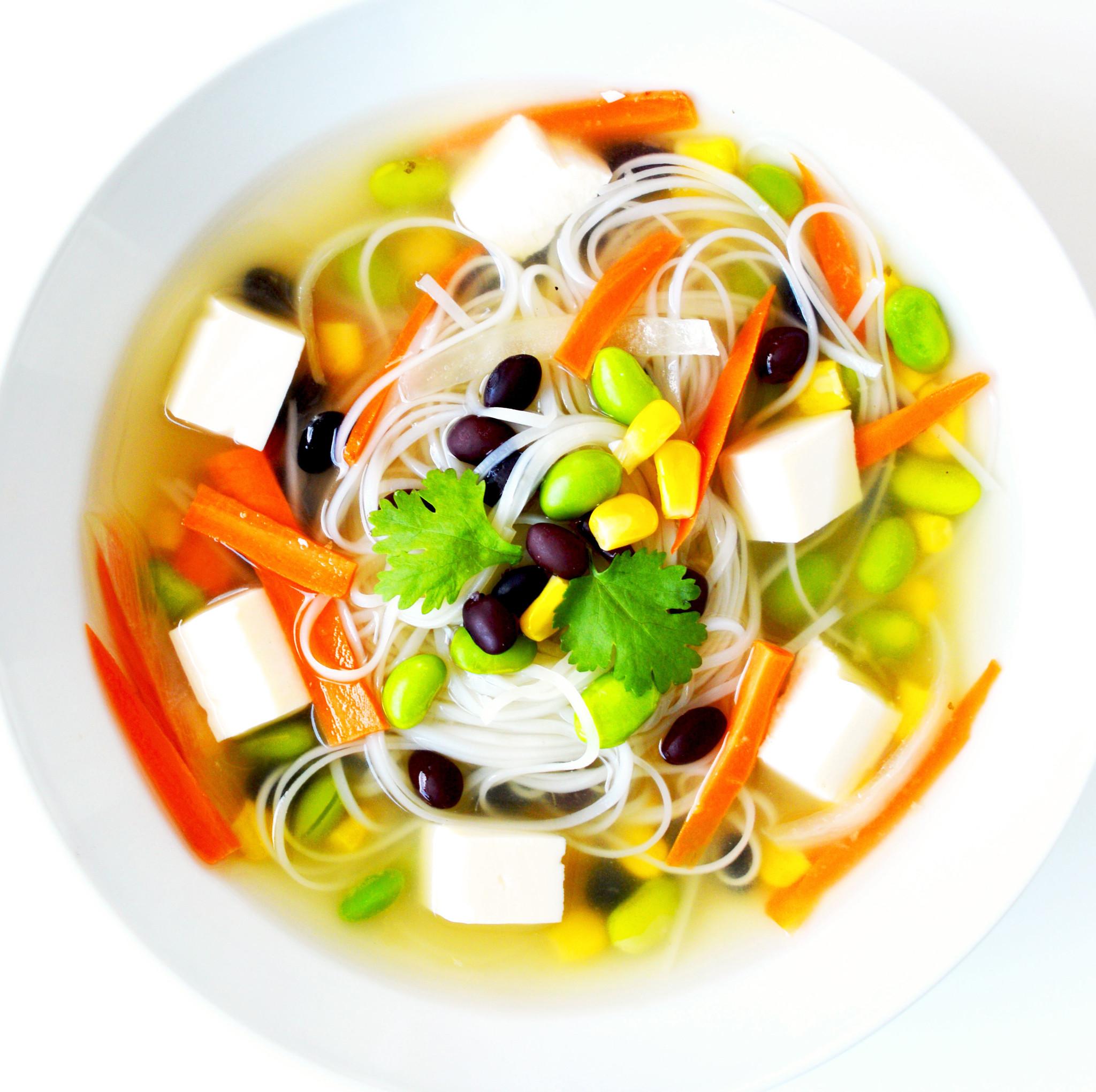Soupe-repas japonaise végétalienne (325g)