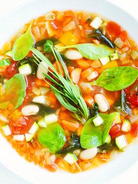 Soupe-repas à la Toscane végétalienne (175 g)
