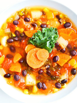 Vegan Mexican meal soup (325g)