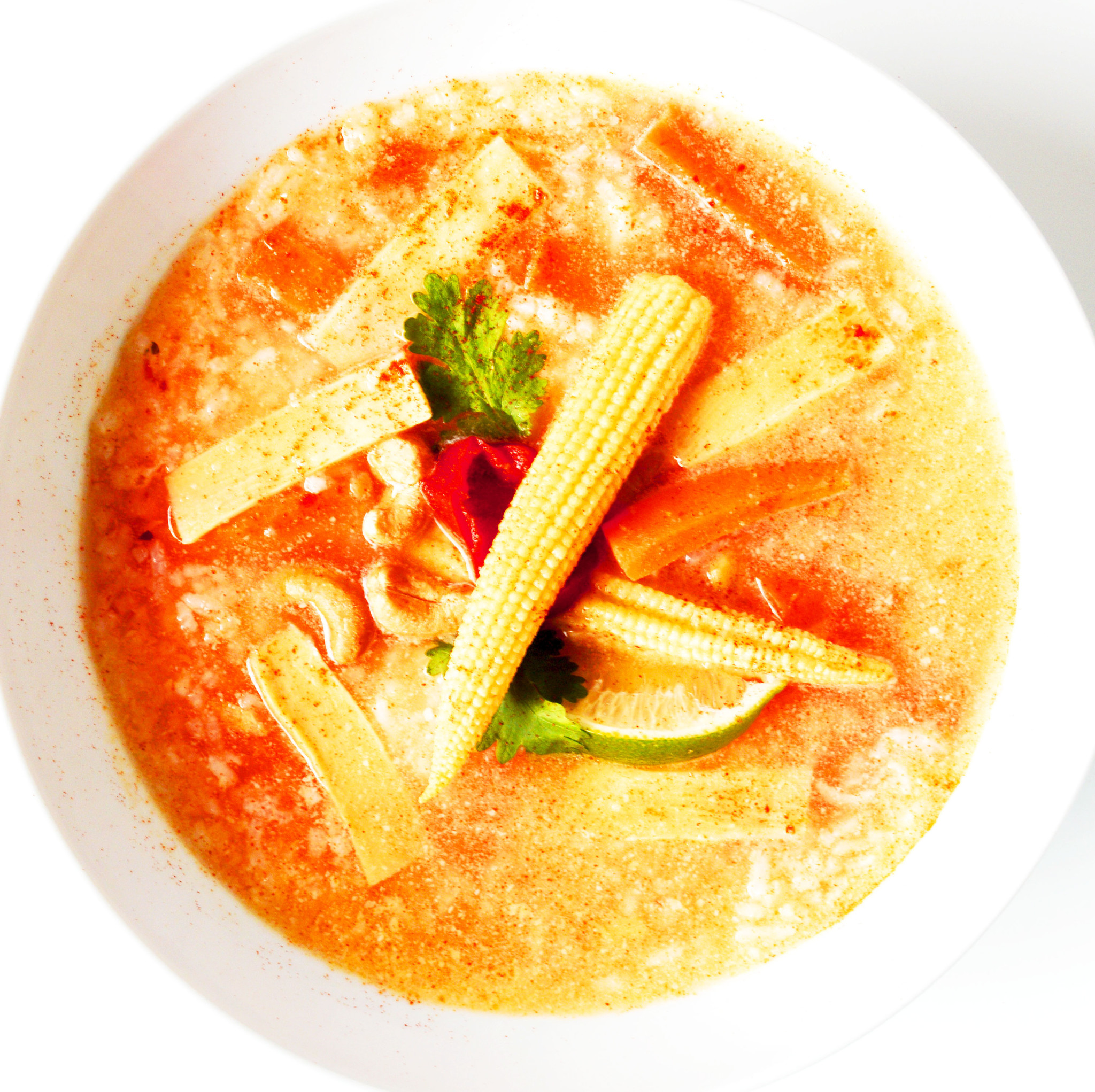Vegan Red curry Thai soup (325g)