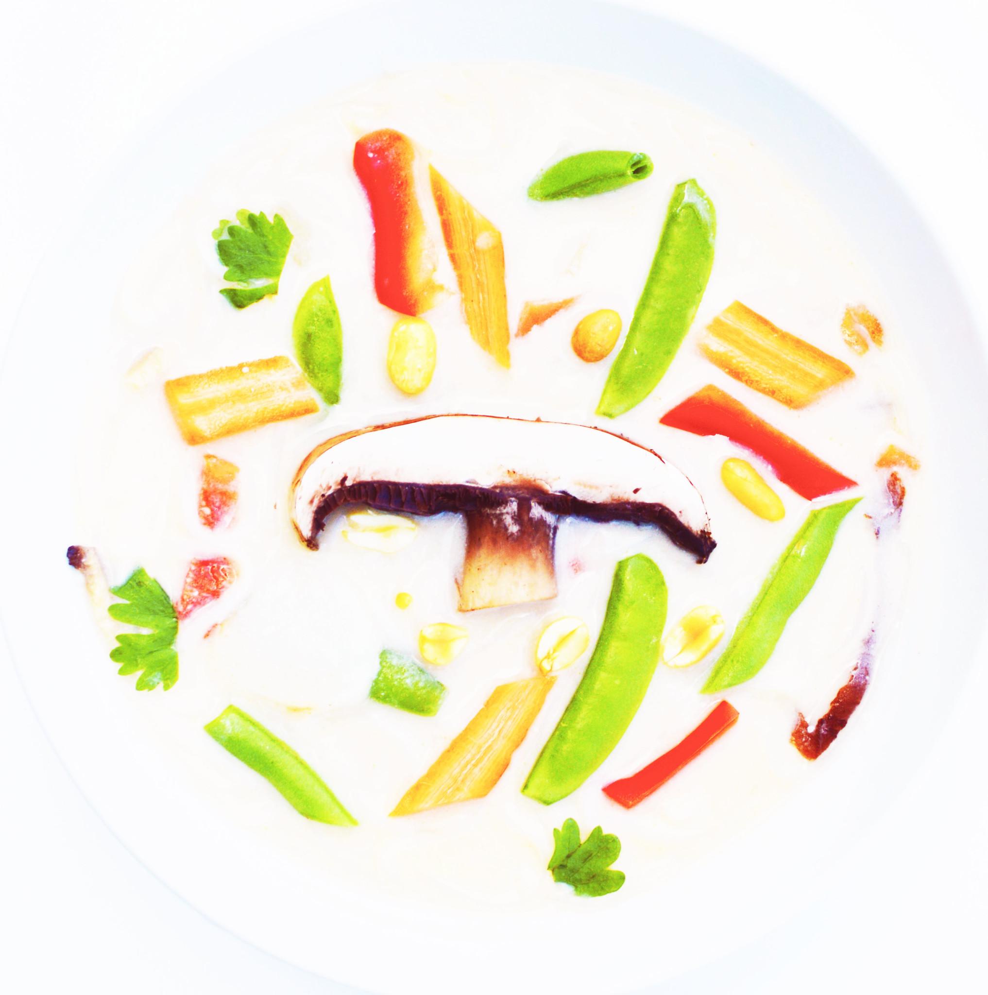 Soupe-repas thaï au cari vert végétalienne (325g)