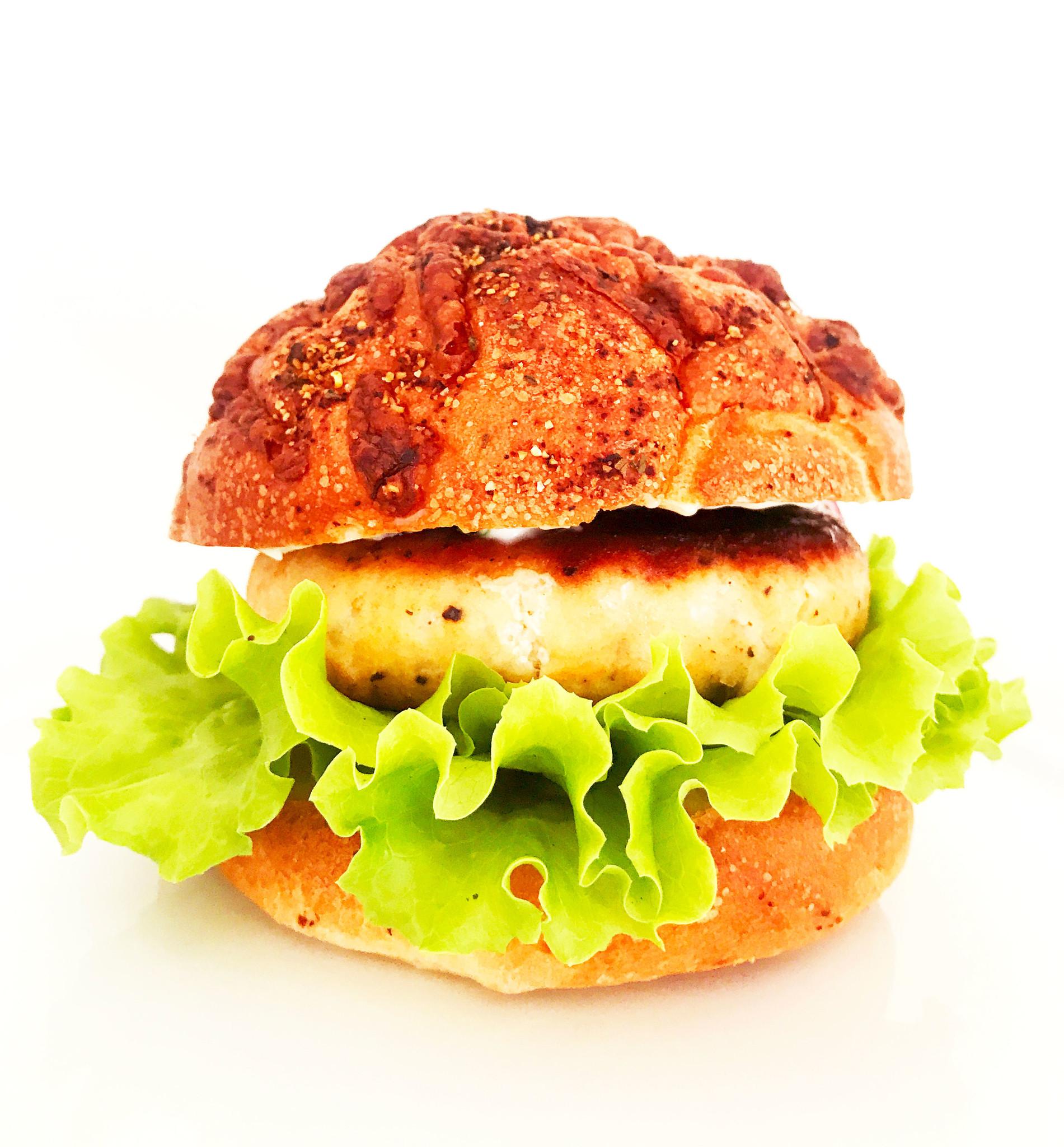 Burger de saumon, câpres & raifort
