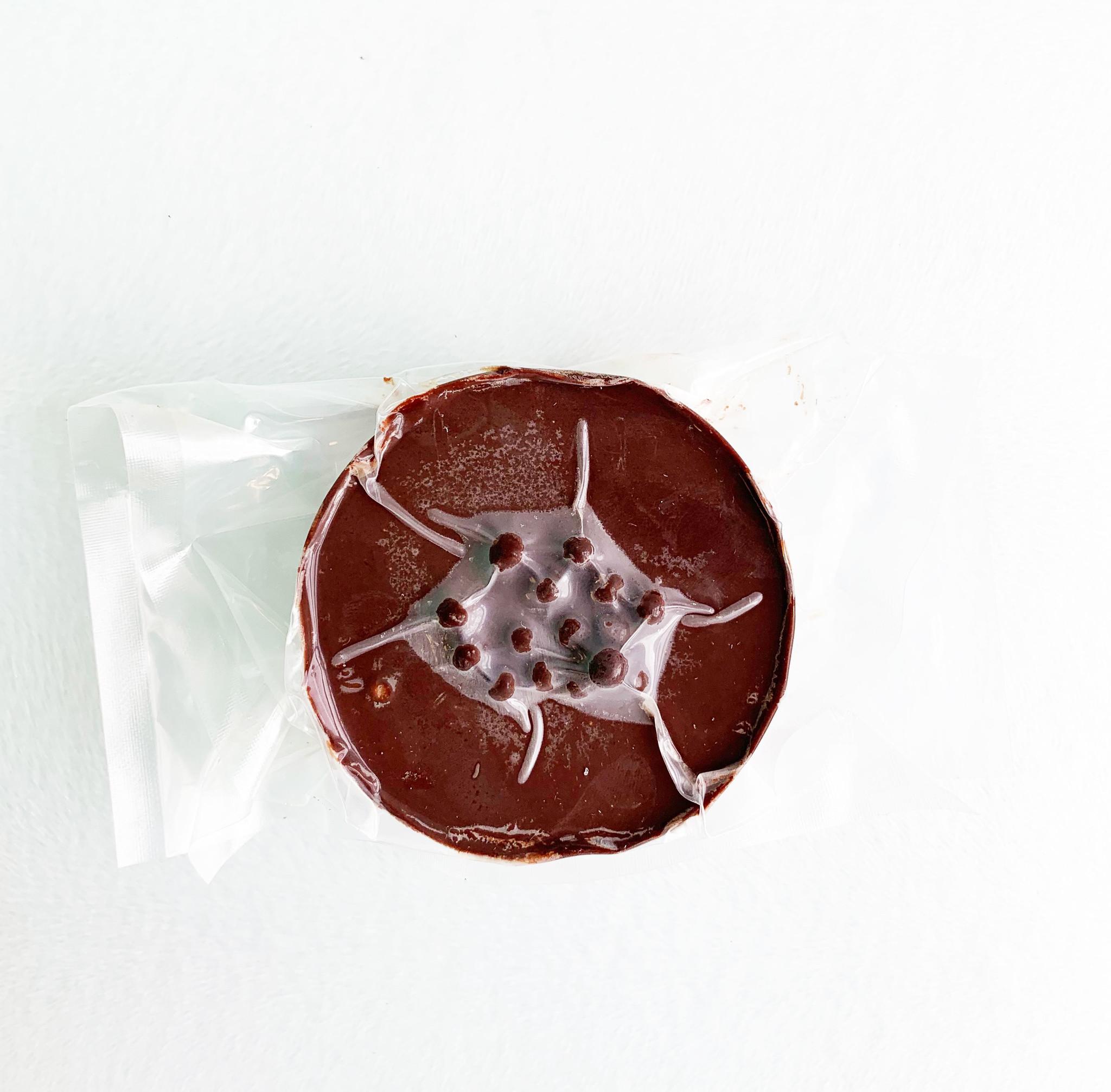 Entremets au chocolat noir