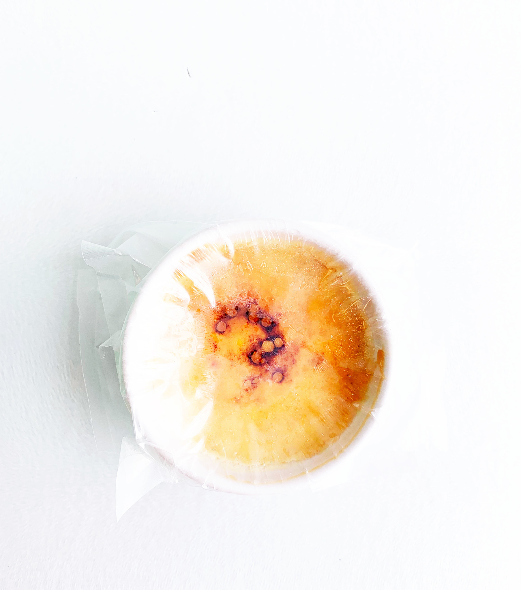 Creme brulee with vanilla
