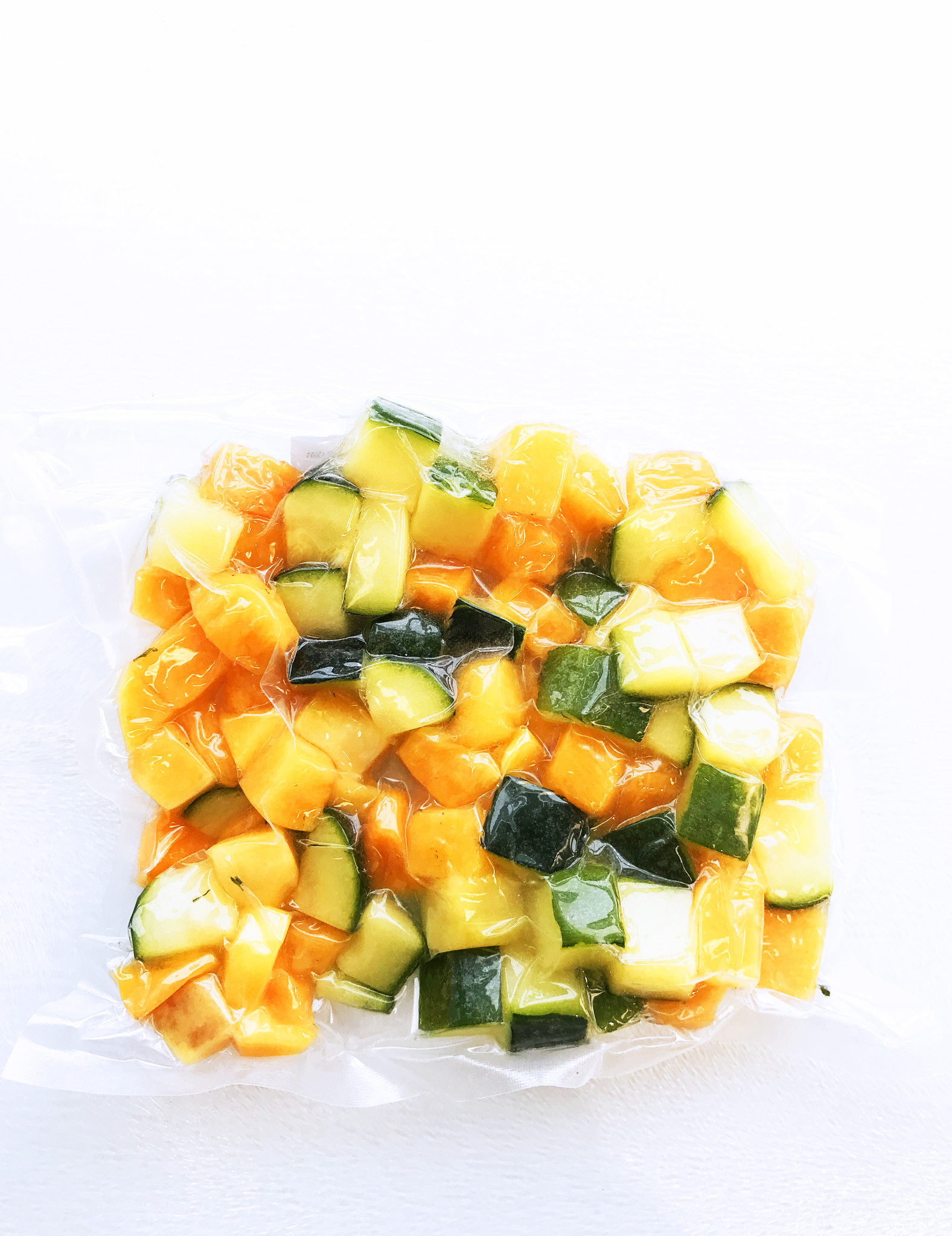 Butternut squash & green squash