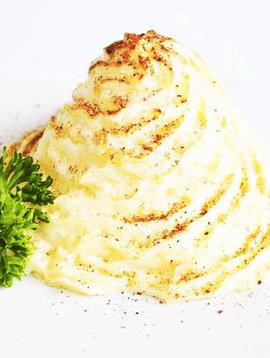 Purée de pommes de terre duchesse