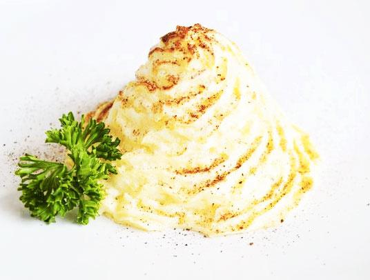 Mashed Duchess Potatoes
