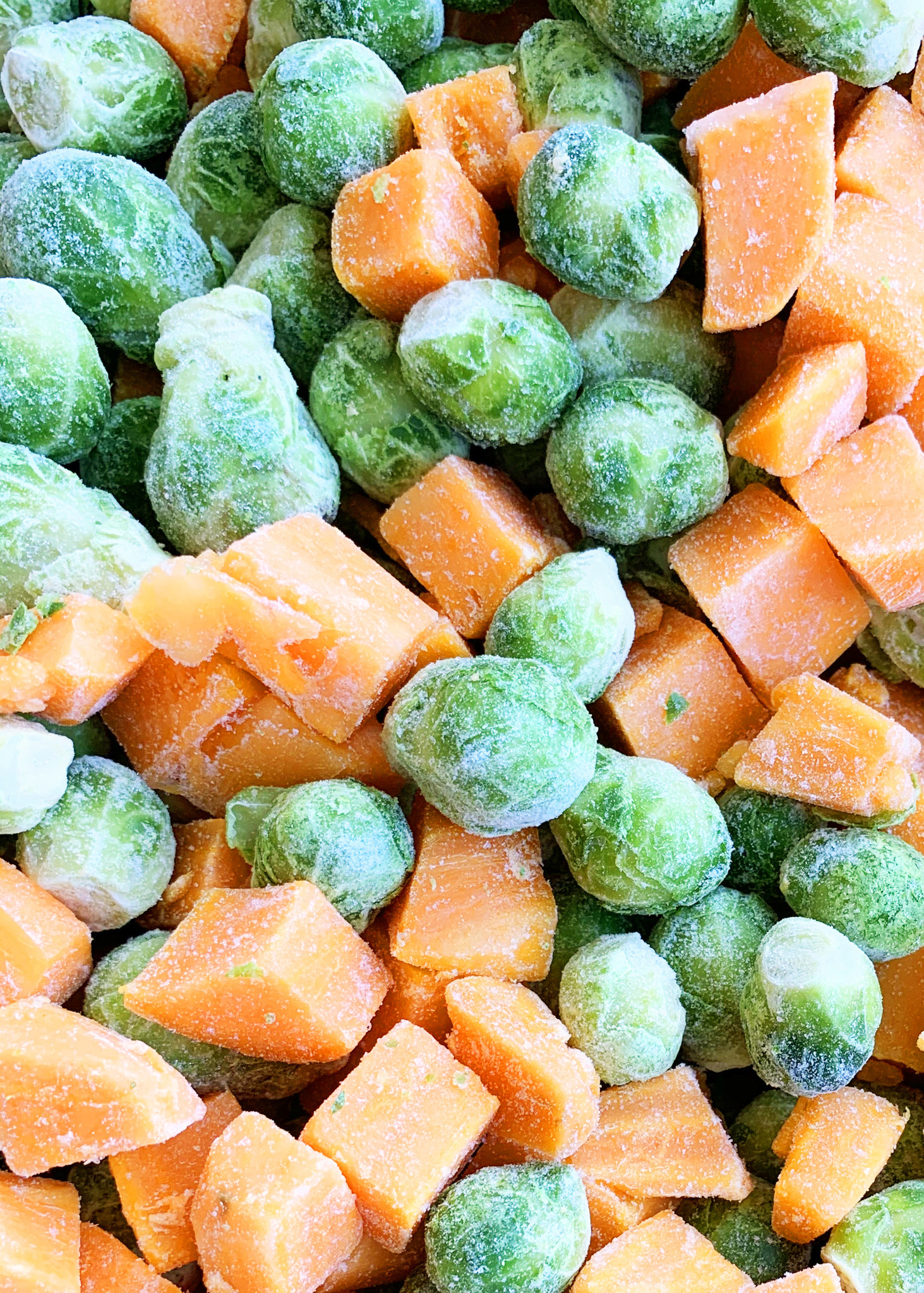 Brussels sprouts & sweet potatoes