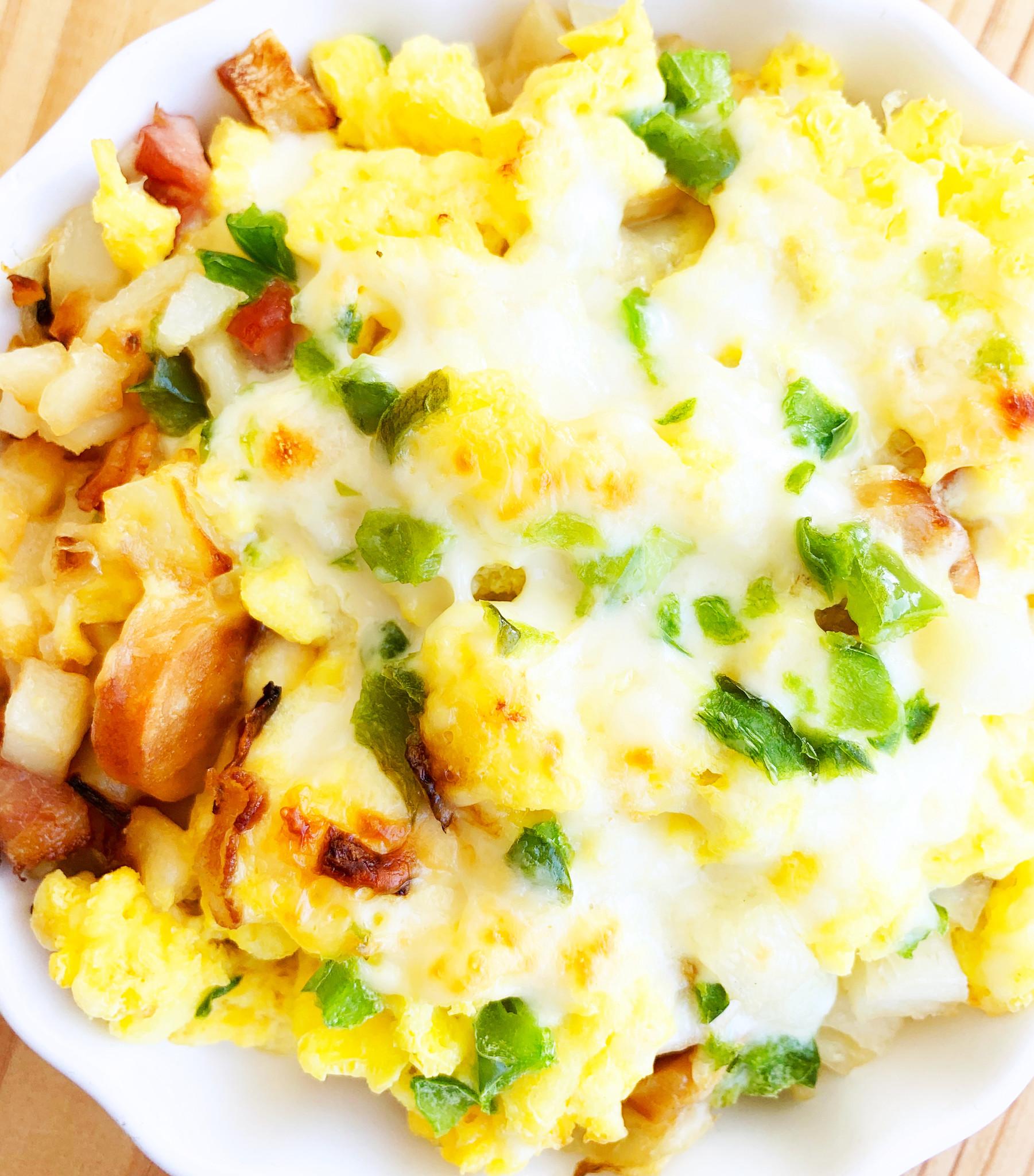 Peasant-style breakfast cassolette