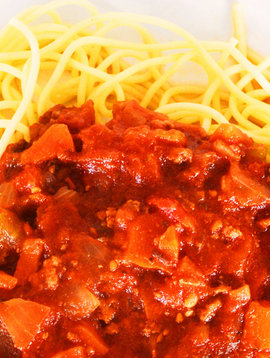 Meat spaghetti sauce