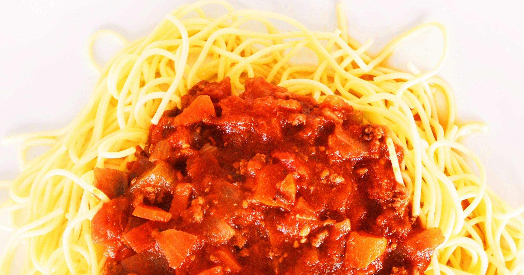 Sauce à spaghetti à la viande (Circulaire Septembre, Prix rég. 8.50$)
