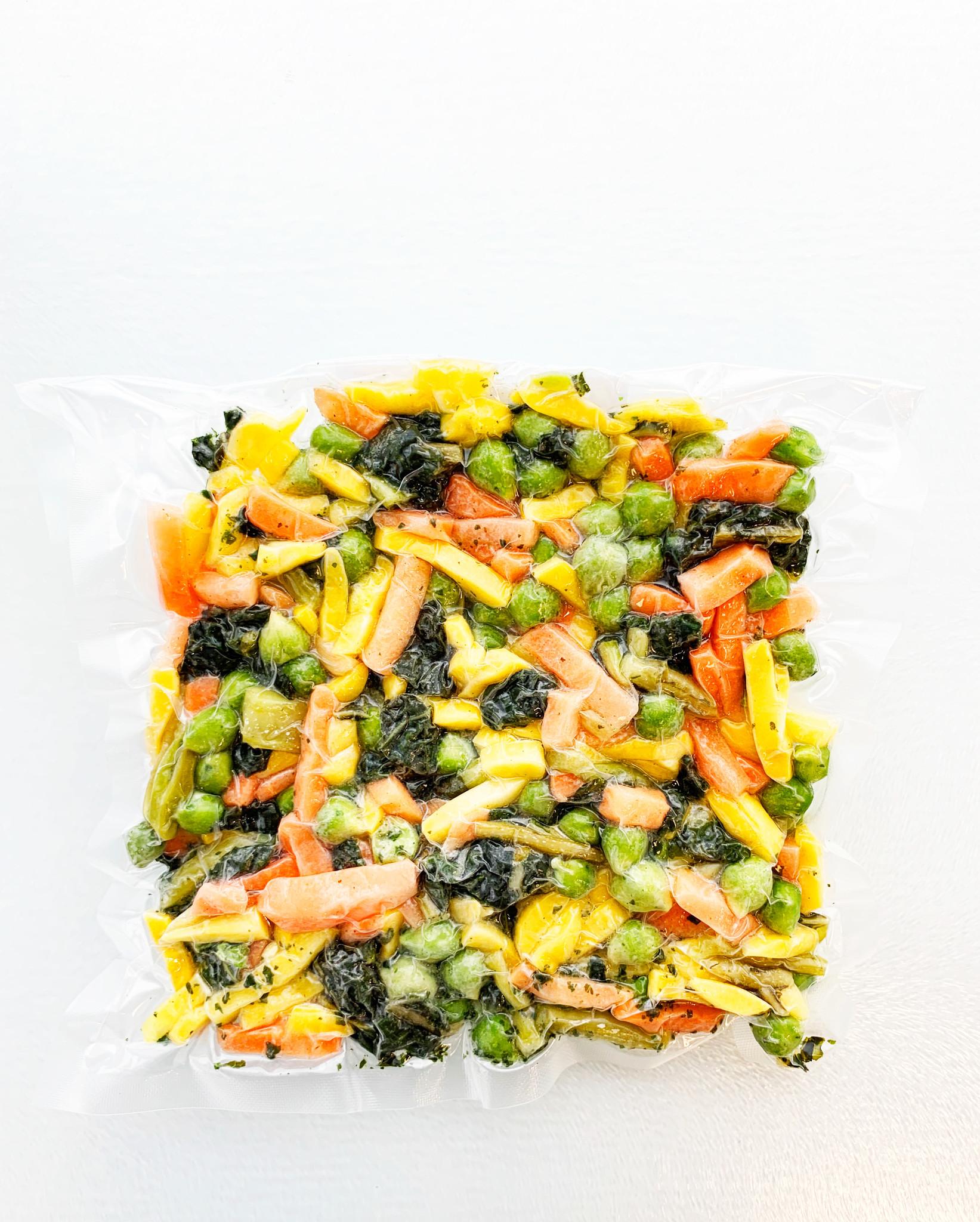 Small vegetables box