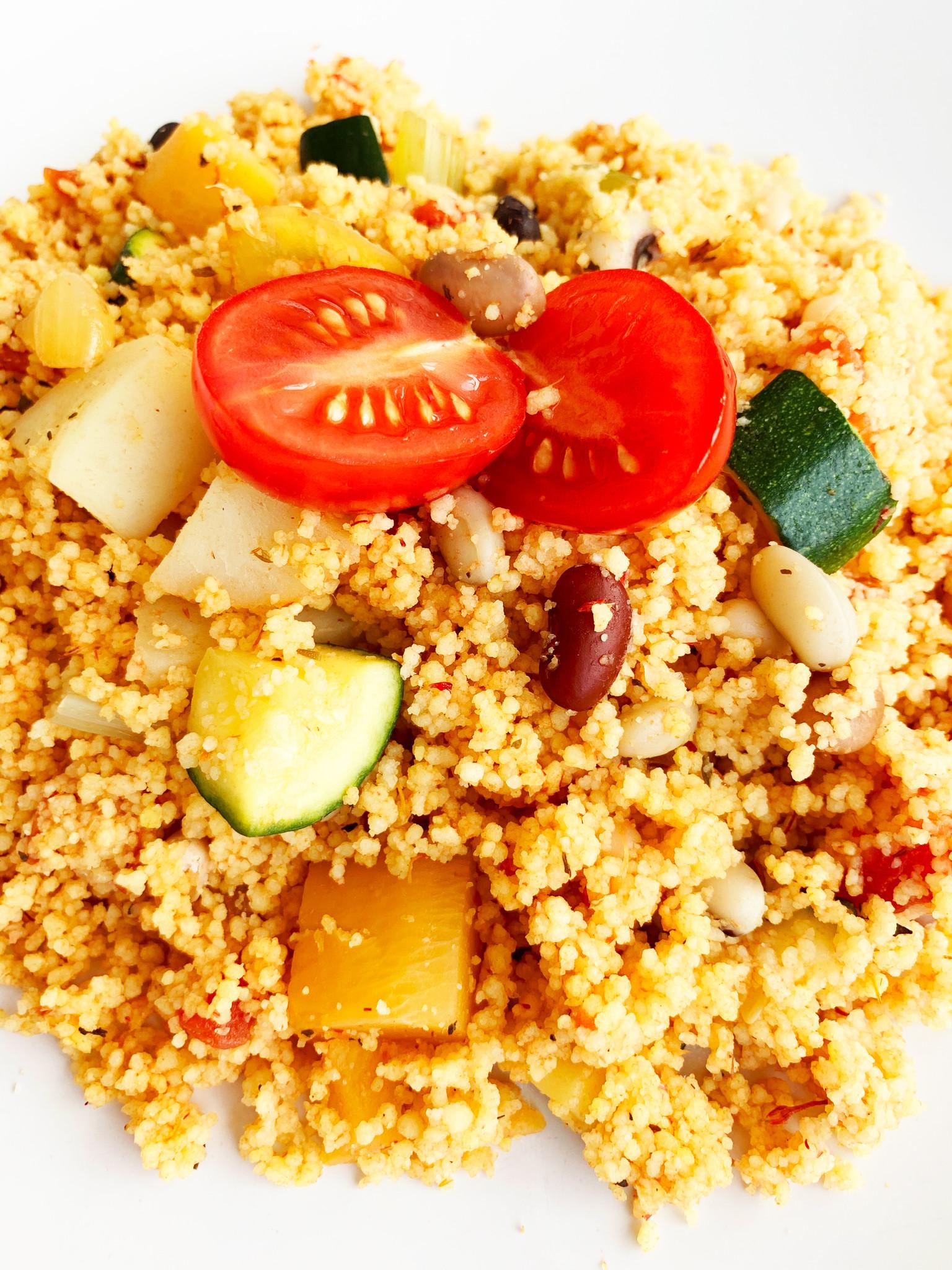 Couscous végétalien & légumineuses (325g)